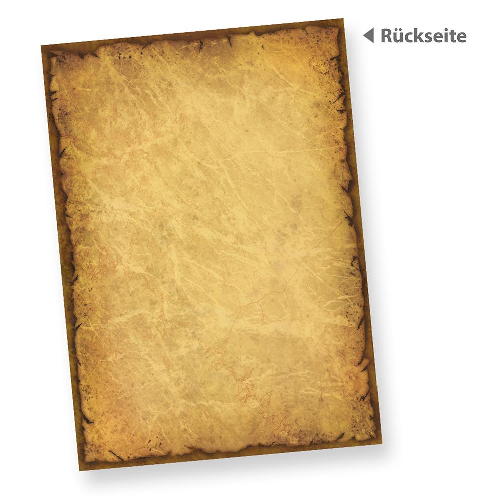 alter karton antik a4 casanova 100 blatt alt mittelalter papier, Einladung