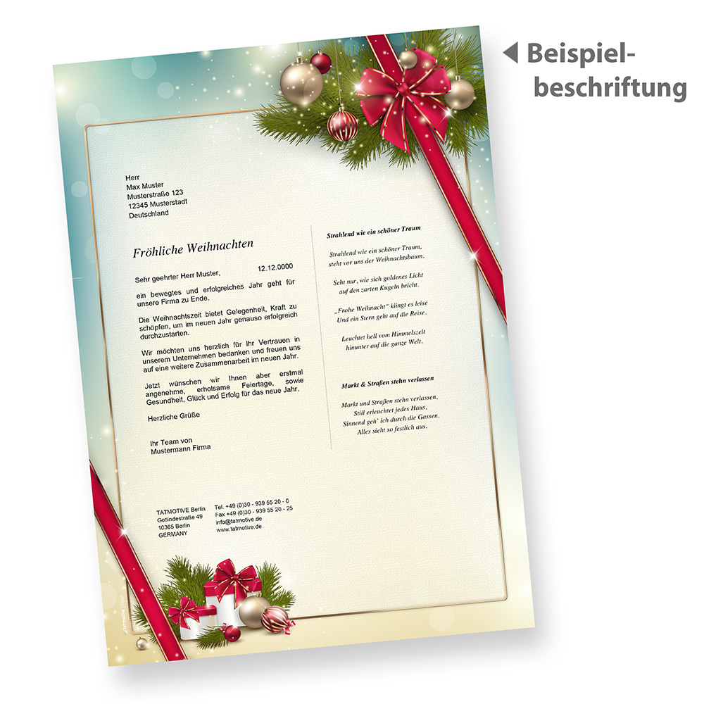 Nett Weihnachten Flyer Vorlage Wort Fotos - Entry Level Resume ...