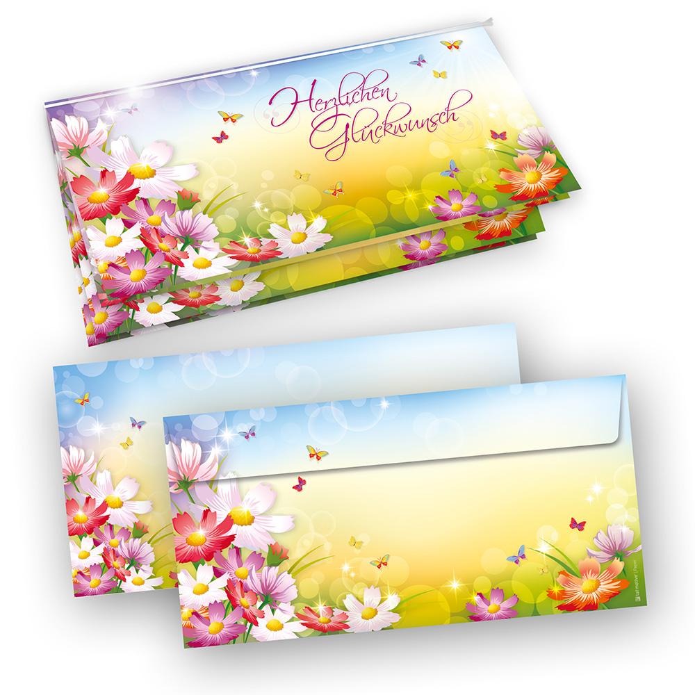 Glueckwunschkarten FLORENTINA 20 Sets Zum Geburtstag Online Bestellen